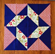 Layer Cake Sampler QAL Week 5 {Blocks 9 & 10} - Material Girl Quilts