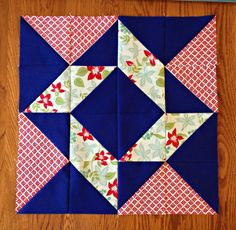 Layer Cake Sampler QAL Week 5 {Blocks 9 & 10} - Material Girl Quilts