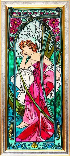 Image result for alfons mucha czech artist