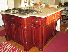 ProCraft Fine Cabinet and Woodwork Cherry island, beautiful!