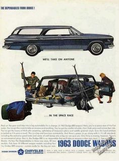 "Dodge 880 Wagon ""We'll Take On Anyone"" (1963)"