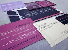 Wedding invitation colours