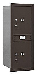 4C Horizontal Mailbox - 11 Door High Unit (41 Inches) - Single Column - Stand-Alone Parcel Locker - 2 PL5's - Bronze - Rear Loading - USPS Access by Salsbury Industries. $303.47. 4C Horizontal Mailbox - 11 Door High Unit (41 Inches) - Single Column - Stand-Alone Parcel Locker - 2 PL5's - Bronze - Rear Loading - USPS Access - Salsbury Industries - 820996412232. Save 13% Off!