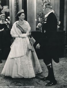DATE:October 27 1955 D:H.Queen with PM Sir Anthony Eden in the foyer of the Royal Opera House,prior to the Gala Performance /original photo House Of Windsor, Windsor Castle, Queen Mary, Queen Elizabeth Ii, Sir Anthony, Elisabeth Ii, British Prime Ministers, Extraordinary People, Her Majesty The Queen