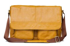 Kelly Moore Boy Bag in Mustard