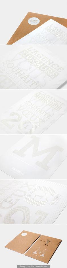 Carte de voeux 2012 by Murmure