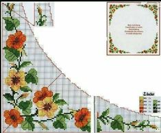Chicken Scratch, Cross Stitch Flowers, Diy And Crafts, Bouquet, Tapestry, Palestine, Tablecloths, Cross Stitch Embroidery, Throw Pillows