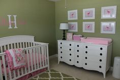 If I ever have a daughter, she will get the Flamingo room that I never had
