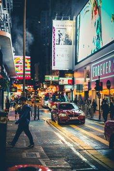 The Art of the Automobile - automotivated: Hong Kong streets (by Zanthia) . Hong Kong Night, City That Never Sleeps, Concrete Jungle, Urban Photography, Cityscape Photography, Creative Photography, Street Photography, Travel Photography, Night City