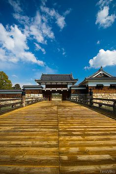 Omotegomon Gate, Hiroshima Castle, Japan