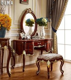 Vanity, Luxury, Classic, Interior, Furniture, Home Decor, Dressing Tables, Derby, Powder Room