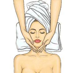 Beauty Care, Beauty Skin, Beauty Makeup, Makeup Illustration, Esthetician Room, Beauty Salon Decor, Skin Care Routine Steps, Skin Care Tools, Hair Art