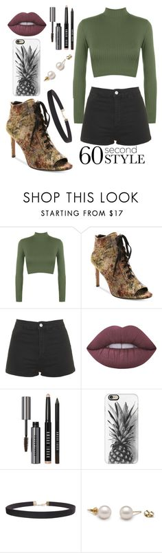 """""""ready for dinner!!"""" by beingmyselfaf ❤ liked on Polyvore featuring WearAll, Nanette Lepore, Topshop, Lime Crime, Bobbi Brown Cosmetics, Casetify and Humble Chic"""
