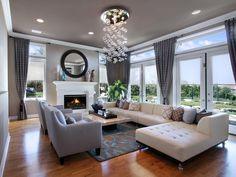 Immagine salotto con arredi contemporanei - stile lussuoso - perfetto spazio per lunghi dialoghi e per rilassarsi