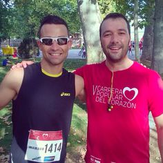 Nuestro Global Óscar Álvarez en la pasada carrera del Corazón. www.trainerglobal.com #training #entrenamiento #personaltrainer #entrenadorpersonal #entrenamientopersonal #trainerglobal #trainer #entrenador #coach #beglobal #trainyourmovements #salud #fitness #salud #deporte #sport #sports #deportes #health