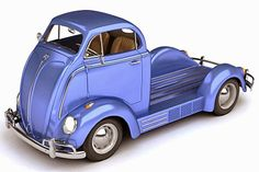 SCALE MODEL NEWS: SCALE MODEL CHALLENGE: INSPIRATION FOR A BEETLE RETRO-VAN KIT-BASH