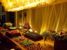 Mesa de bolo e doces - Decoração by WandaZ