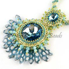 Jewel Of The Peacock Throne by Manek-Manek Beads - Jewelry | Kits | Beads | Patterns