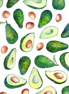 avocado on Behance