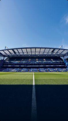 Chelsea Stadium, Fc Chelsea, Chelsea Football, Stamford Bridge, Messi, Baseball Field, Blues, London, Black Panther