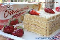 Strawberry cheesecake alla Freddi