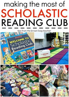 Scholastic Reading Club: Tips & Tricks for getting the most bonus points and building a classroom library (The Brown Bag Teacher)