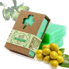 100g Natural Handmade Olive Essential Oil Soap