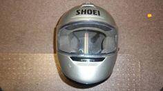Shoei RF-800 Full Face Motorcycle Helmet Size L, Silver with Metal Flake, Japan #Shoei
