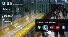 Mieten, Zugezogene, Biomärkte: Alle Haltestellen von BVG und S-Bahn im Check. Was macht Berlin an deiner Linie aus?