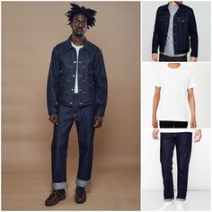 Levi Vintage | How to wear AW16 Denim | Denim Trends | Shop all Levi Denim at The Idle Man | #StyleMadeEasy