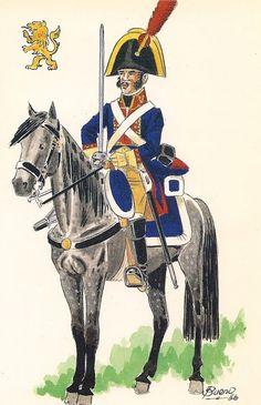 Regno di Spagna - Caballería de Línea del Rey 1804-14