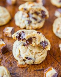You know what goes great with chocolate chips? Caramel.Get the recipe from Averie Cooks. - Courtesy of Averie Cooks