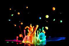 Paint Splash Photography by Patrick Latter