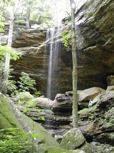 Anglin Falls, Berea, Kentucky