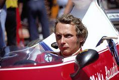 Niki Lauda, Ferrari 312T, 1975 German Grand Prix, Nürburgring