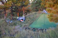 Elk Hunting Camp.. So us this September!! Even the pack and play!