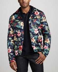 Floral-Print Puffer Jacket by Moncler at Neiman Marcus.  ТОЧНАЯ ТАКАЯ ЕСТЬ У СТАЛИНЫ АЛЕКСЕЕВНЫ  ТЕПЕРЬ ЭТО МОГУ НОСИТЬ Я  СБЫЛАСЬ МЕЧТА ИДИОТА  ДА  ЭТО НЕ РИО-ДЕ-ЖАНЕЙРО