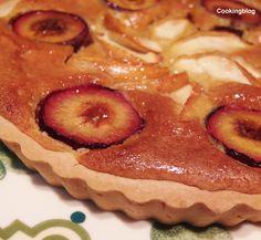 Cooking : Tarte de maçã e ameixa