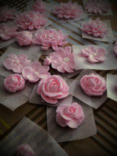 Flores de glasa