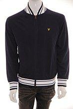 Lyle and Scott Mens Sweat Jacket Navy b_XXL Zip Thru Regular Fit - Various Size Options