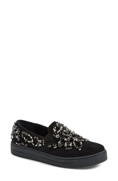 Prada Embellished Sneaker (Women) available at #Nordstrom