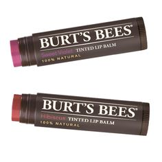 Expert's Top 10: Lina Hanson's Green Beauty Must-Haves - Burt's Bees Tinted Lip Balm from #InStyle