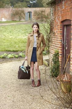 Joules, mac, coat, chelsea boots, style, fashion, womens, clothing, country, winter, autumn