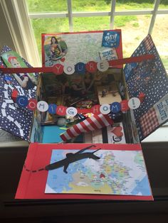 Coming home/ 4th of July military care package!