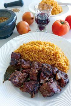 Αφελια φουρνιστα Steak, Pork, Health Fitness, Beef, Kale Stir Fry, Meat, Steaks, Pork Chops, Fitness