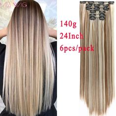 Synthetic Extensions Hair Extensions & Wigs Radient Shangke Single Clip In One Piece Hair Extensions Synthetic Long Straight Made 70 Colors Ombre Red Hair Pieces Quality First