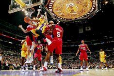 Kobe Bryant, Chris Kaman, Sam Cassell and Cuttino Mobley Nov. 2005 John W. Dear Basketball, Basketball Legends, 2000 Nba Finals, Sam Cassell, Kobe Bryant Nba, Shooting Guard, Us Olympics, Lakers Kobe, Last Game
