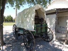 Wooden Wheel Horse Drawn Buckboard Wagon