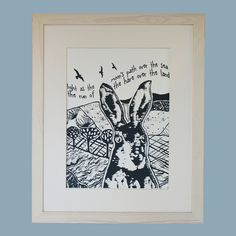 Limited edition, original hand printed artwork by Denise Huddleston. Buy from www.madefromscotland.com