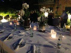 Cena Aziendale Associazione ACT - Allestimento a cura di 169 Design